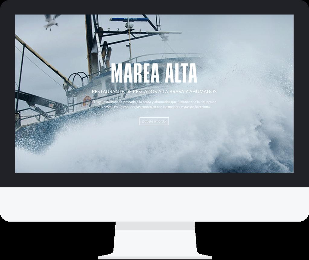 Restaurante Marea Alta - Jonas Zamora